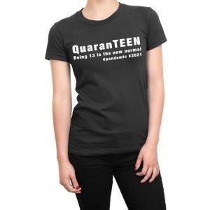 QuarenTEEN 13 year old quarantine birthday women's t-shirt