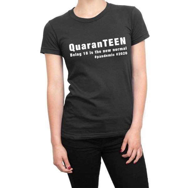 QuarenTEEN 18 year old quarantine birthday t-shirt by Clique Wear
