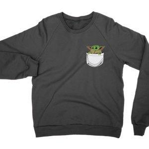 Baby Yoda pocket jumper (sweatshirt)