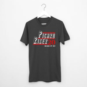 Picard Riker 20 Make It So T-Shirt
