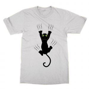 Cat scratching T-Shirt