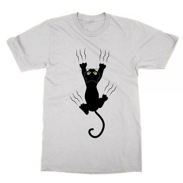 Cat scratching t-shirt by Clique Wear
