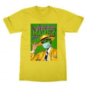 Coronavirus The Mask movie poster T-Shirt