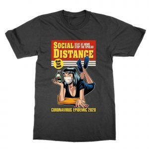 Pulp Fiction coronavirus poster T-Shirt