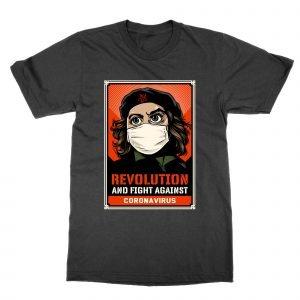 Revolution and Fight coronavirus T-Shirt