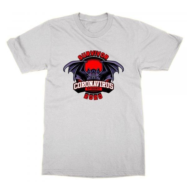 Survivor Coronavirus Pandemic bat t-shirt by Clique Wear