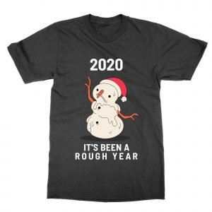 2020 Melted Snowman t-shirt by Clique Wear