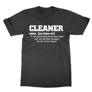 Cleaner definition t-shirt by Clique Wear