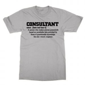 Consultant definition t-shirt by Clique Wear