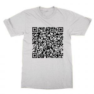 Bee Movie Script QR Code T-Shirt