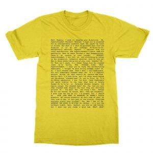 Steamed Hams script T-Shirt