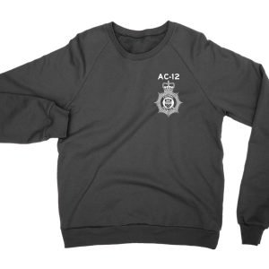 AC-12 Police Badge sweatshirt by Clique Wear