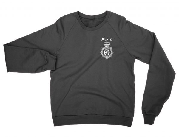 AC-12 Police Badge sweatshirt by Clique Wear