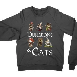 Dungeons and Cats sweatshirt by Clique Wear