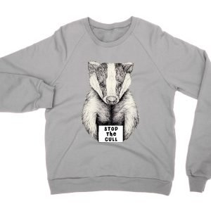 Stop the Badger Cull sweatshirt by Clique Wear