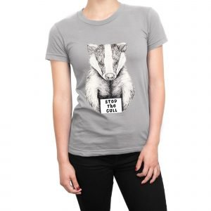 Stop the Badger Cull women's t-shirt