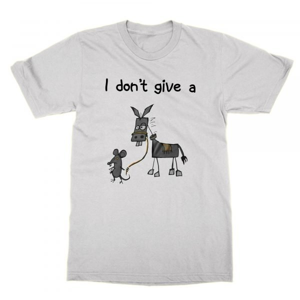 I Don't Give A Rats Ass t-shirt by Clique Wear