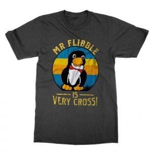 Mr Flibble Is Very Cross t-shirt by Clique Wear