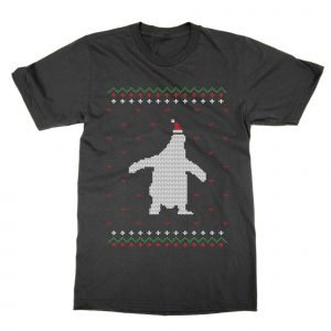 Penguin Christmas Ugly Sweater T-Shirt