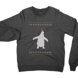 Penguin Christmas Ugly Sweater jumper (sweatshirt)