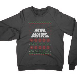 Star Wars opening text ugly Christmas Sweater jumper (sweatshirt)