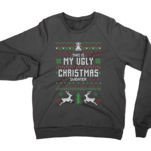 This Is My Ugly Christmas Ugly Sweater jumper (sweatshirt)